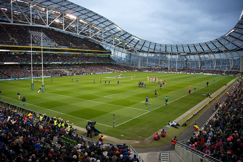 aviva stadium travel